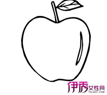 儿童简笔画水果图片 几步教孩子轻松学会画水果