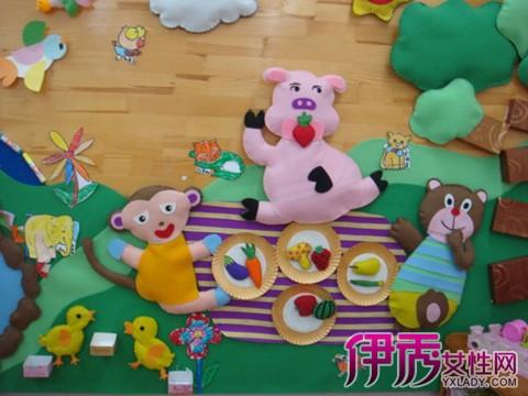 【图】鉴赏幼儿园小动物主题墙 独家手把手教你制作主题墙图片