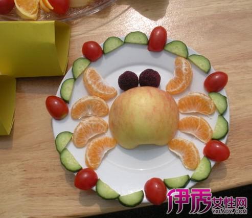 欣赏儿童简单水果拼盘图 8步教你做出好看的拼盘