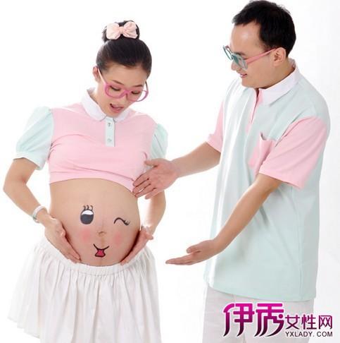【孕晚期怀男宝女宝肚型】【图】孕晚期怀男宝