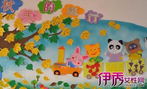 幼儿园秋天的环境布置方案 轻松充满秋天气息图片