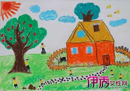 盘点一年级绘画作品图片 让你的孩子轻松学画画