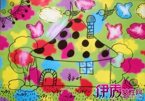 【幼儿蘑菇彩色简笔画】【图】幼儿蘑菇彩色简笔画