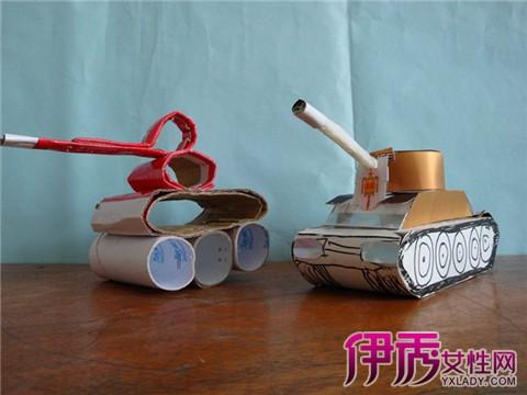【儿童手工制作攻略】【图】手工坦克制作坦克到上海旅游住宿儿童图片