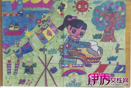 爱学习爱劳动儿童画图片欣赏 如何指导儿童画画