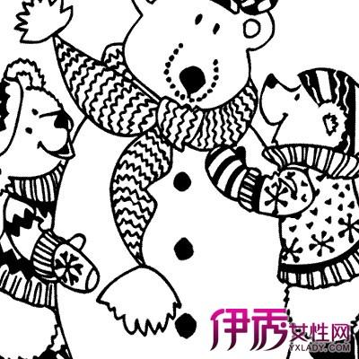 【图】欣赏儿童画冬天的简笔画 了解简笔画的不同画法和技巧图片
