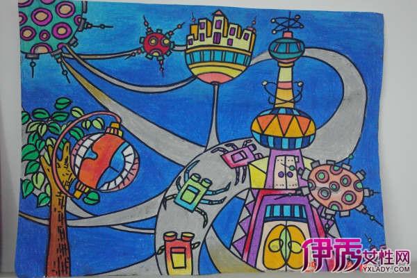 儿童画图片 儿童绘画