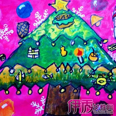 【幼儿画圣诞树】【图】幼儿画圣诞树图片欣赏