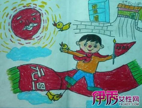 分享儿童画庆祝元旦 让您的孩子从小领先一步
