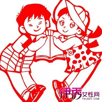 【图】儿童简单剪纸图解人物篇展示