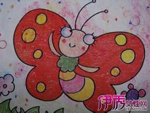 鉴赏儿童画蝴蝶图片 教你如何欣赏儿童画