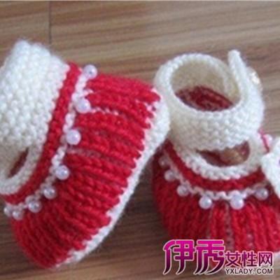 平针宝宝鞋怎么收针方法图解