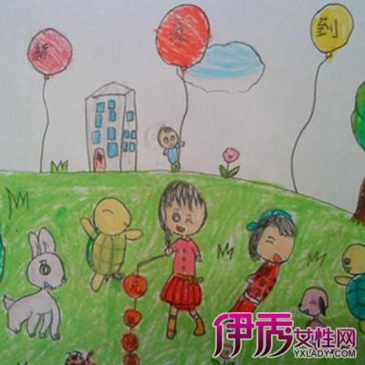 【猴年元旦儿童画】【图】猴年元旦儿童画图片大全