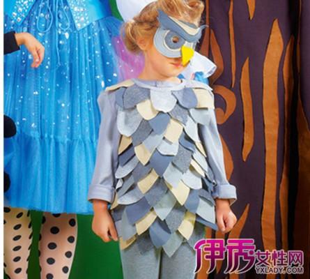儿童男孩创意服装设计图展示图片