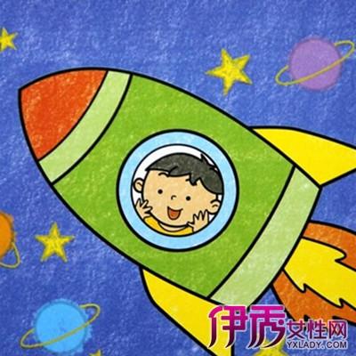 儿童画太空图片大全 6大特点的介绍图片