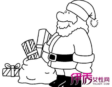 【幼儿圣诞老人简笔画】【图】可爱的幼儿圣诞老人简