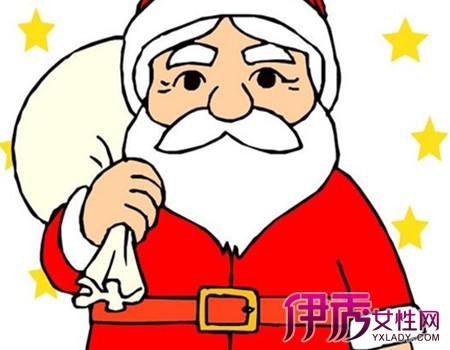 【儿童圣诞老人简笔画】【图】萌萌哒儿童圣诞老人简