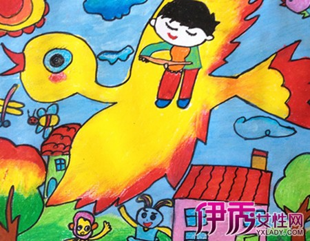 儿童画 450_350图片