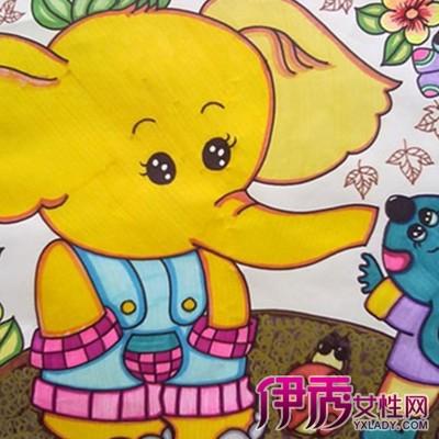 儿童画画大全简笔画动物图片大全 教你如何指导孩子画画