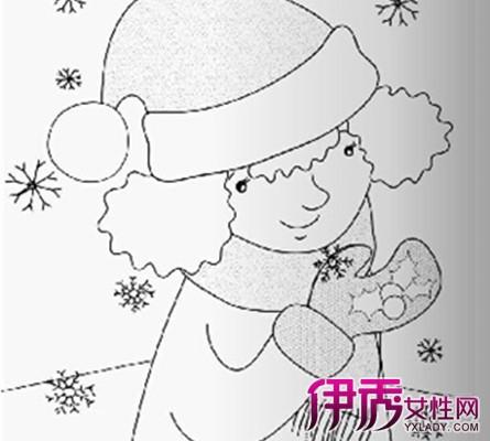 幼儿简笔画雪花图片大全 详解简笔画的画画技巧图片