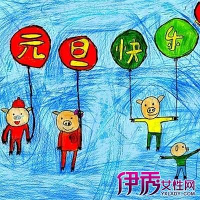 幼儿画图片欣赏 儿童画的