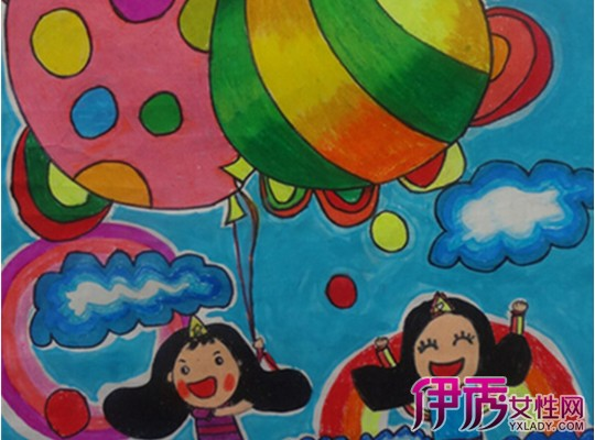 儿童腊笔画图片大全 教孩子学画画的技巧图片