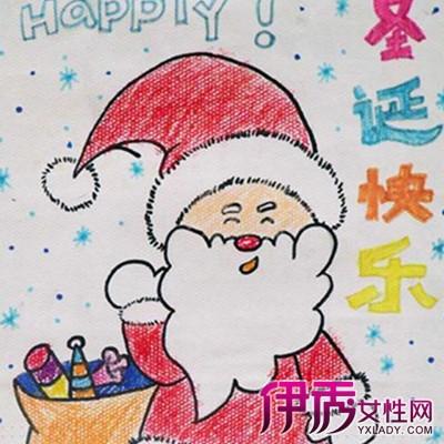 幼儿新年贺卡简笔画作品展示 了解儿童的绘画语言