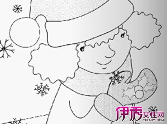 幼儿大班冬天简笔画图片大全 如何教小朋友学画画