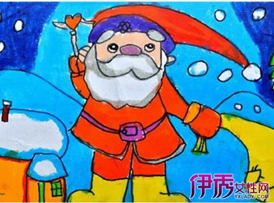 【兒童圣誕節畫畫圖片】【圖】兒童圣誕節畫畫圖片