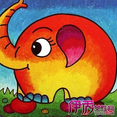 【大象兒童畫】【圖】大象兒童畫圖片大全