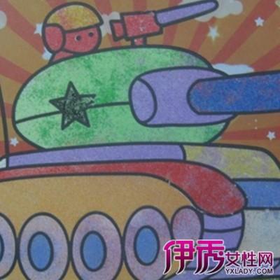 坦克儿童画图片大全 孩童时期绘画的存在的三种特点介绍图片