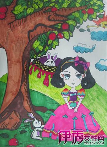 盘点儿童画公主图片 浅谈其艺术特点