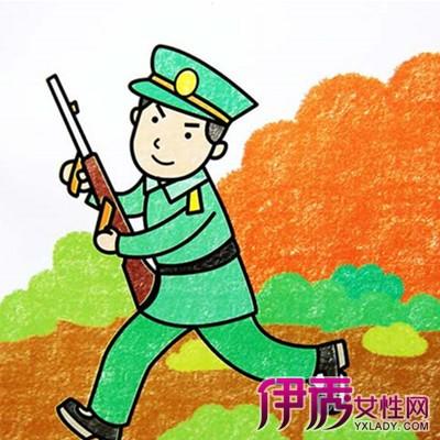 【我心中的警察儿童画】【图】我心中的警察儿童画画