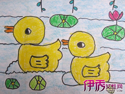 【幼儿园中班画画】【图】幼儿园中班画画作品欣赏