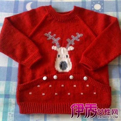 宝宝开衫毛衣编织,以机器或手工编织的毛线上衣