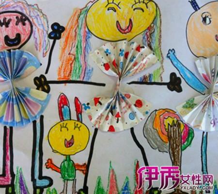 【图】欣赏幼儿园手工画画作品