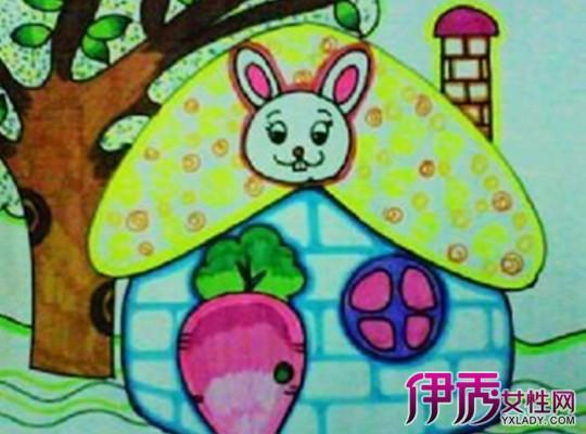 儿童画小房子图片大全 详解儿童画画的好处图片