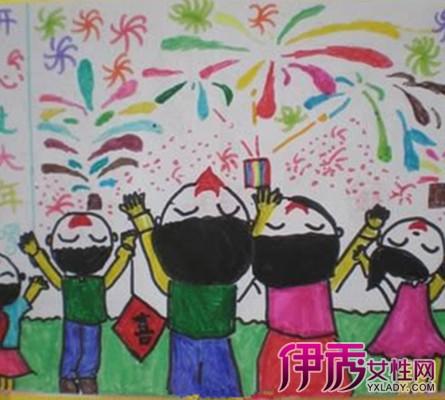幼儿元旦简笔画欣赏 详解简笔画的画画技巧