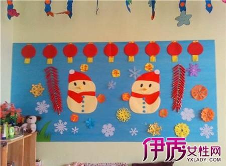 【幼儿园过年主题墙图片】【图】幼儿园过年主题墙