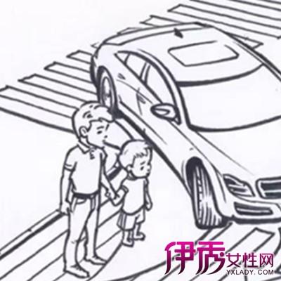 儿童安全教育简笔画片欣赏 了解安全问题的根本原因