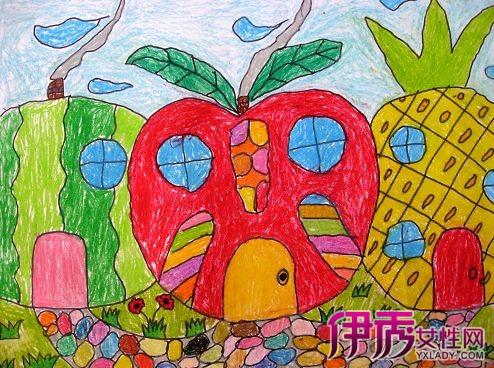 【图】水果房子幼儿画的 让孩子轻松学会简笔画图片