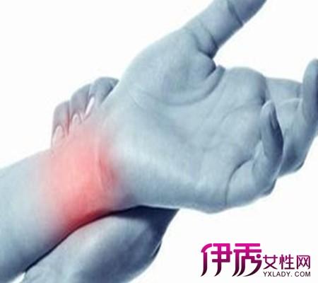 手腕疼多半为腱鞘炎症状,另外骨裂也是引起此病症的常见因素之一,因为图片