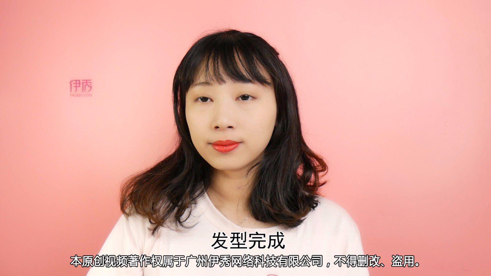 中短发烫发发型 帮你打造女人味的温柔图片