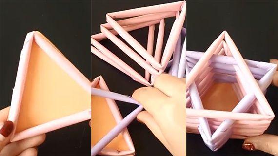 怎么做六芒星收纳盒|怎么做六芒星收纳盒|