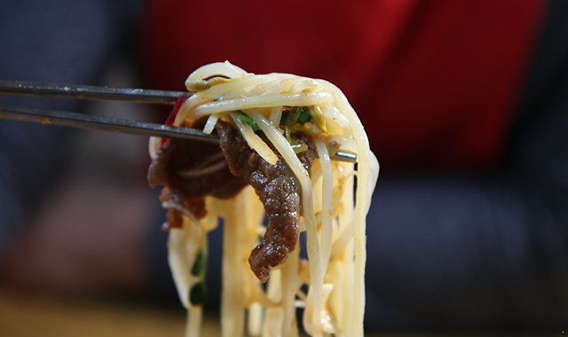 杂菜炒米粉做法