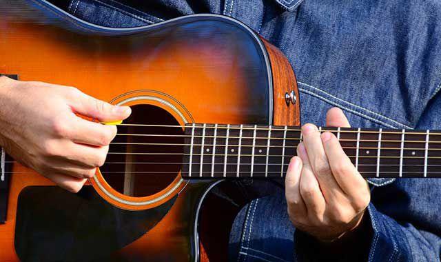 左手吉他手法教程 吉他教程 吉他手法 